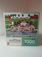 """The Old Filling Station""  Hometown Gallery  1000pc puzzle"