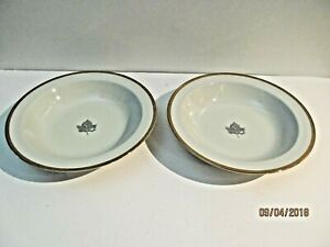 2 Soup/Cereal  Bowls Adam & Eve By Tachikichi Japan