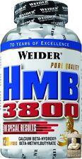 Weider HMB 3800 lata 120 cápsulas (17,05 €/100 G)