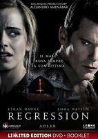 Regression Dvd + Booklet Nuovo Sigillato Emma Watson Ethan Hawk RN
