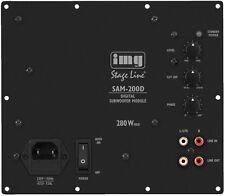 SAM-200D - Digital-Verstärker-Modul für Subwoofer Selbstbau -  200 Watt RMS