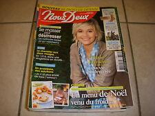 NousDeux 3623 12.2016 Flavie FLAMENT Jean POIRET NOEL en SUEDE HAND'CHIENS