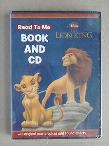 Disney The Lion King - Read to Me - Book and CD (2010) New & Sealed
