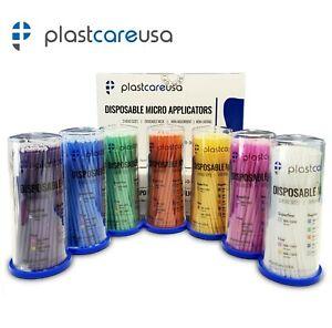 400 Micro Brushes Applicators Microbrush Dental (Regular, Fine, Super Fine) Eye