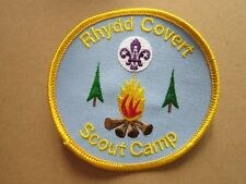 Rhydd Covert Scout Camp Cloth Patch Badge Boy Scouts Scouting L6K