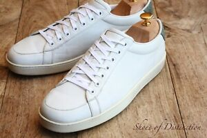Gucci Ace White Leather Trainers Sneakers UK 9.5 G US 10.5 EU 43.5