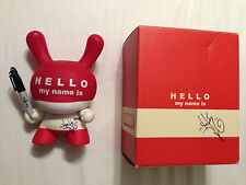 "HMNI Hello My Name Is Dunny - 8"" by Huck Gee and Kidrobot"