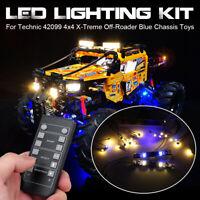 RC LED Light Lighting Kit Only For LEGO Technic 42099 4x4 X-Treme Off-Roader  g