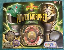 Power Rangers Legacy Morpher Green White Ranger Edition Bandai NEW Diecast