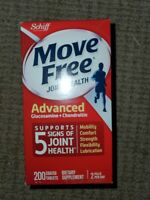 Schiff Move Free JointHealth Advanced Glucosamine+Chondroitin 200CoatedTabs11/21