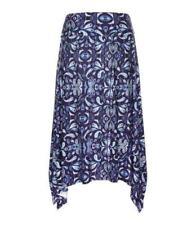 Regular Size Paisley Long Skirts for Women