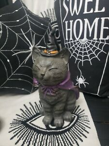 Tkmaxx Halloween Witches Cat  Vintage Style  large