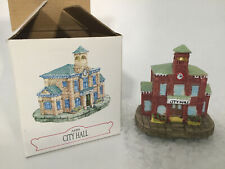 Liberty Falls City Hall Ah84 Americana Collection Int'l Resourcing Services 1994