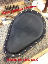 Chopper Seat Sportster Bobber Rich Phillips Leather Motorcycle Harley Davidson 1