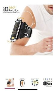 Exercise Cell Phone Armband  Running/Hiking/Cycling -(360 Degree Rotation)