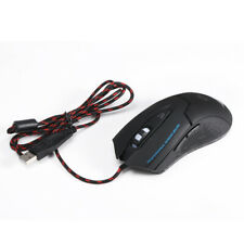 Programmable 6 Buttons LED Optical USB Gaming Mouse Mice 3200 DPI #gib