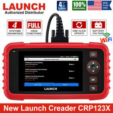 LAUNCH X431 CRP123 X OBD2 Scanner Auto Diagnostic Tool Car Code Reader as VII+
