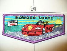 OA Mowogo 243,S-70,2010,100th Ann BSA Jamboree Flap,LPR Bd,NE Georgia Council,GA