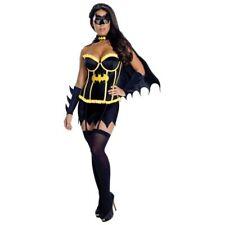 Womens Adult Sexy DC COMICS Batgirl Corset Costume
