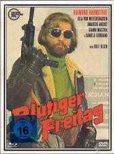 Bloody Friday 4 Disc Blu Ray & DVD digipack Subkultur Rolf Olsen 1972 Region 0