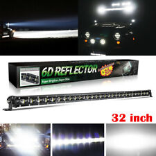 CoLight 32 Inch Single Row Spot Beam Led Light Bar Super Bright for Ford Pickup