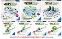 RAVENSBURGER GraviTrax® STARTERSET + ALL 6 EXTENSIONS - INTERACTIV GAME