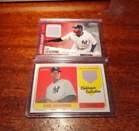 (2) CARD LOT LUIS SEVERINO 2018 TOPPS HERITAGE #CCR-LS & '19 #MLM-LS NY Yankees