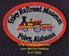 LMH Patch  FOLEY RAILROAD MUSEUM Archives Train Station  Alabama Model Toy Depot