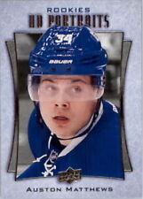 Upper Deck Single Hockey Trading Cards Auston Matthews