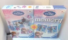 Ravensburger Disney Frozen 4 in1 set - 3 Puzzles & Memory game NEW