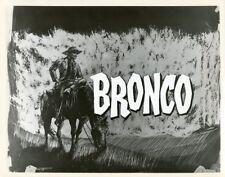 TY HARDIN BRONCO ORIGINAL 1959 ABC TV PHOTO BILLBOARD