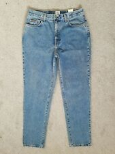 Vintage Calvin Klein High Waisted Straight 90s Womens Mom Jeans 14 W32 L30 NEW
