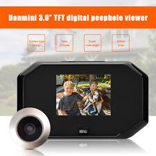 "3.0"" TFT LCD Farbdisplay Digital 145° Türspion Guckloch mit Kamera Home Security"
