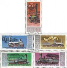 Sovjet-Unie 4715-4719 postfris 1978 Stoomlocomotieven