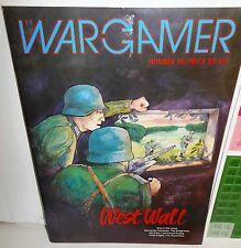 BOARD WAR GAME+Mag Wargamer #35 West Wall 1944-45 op 1984 UNP Double-Blind