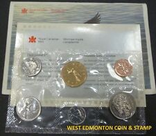 1992 UNCIRCULATED PROOF LIKE SET - CANADIAN 6-COIN SET - ENVELOPE & CERTIFICATE