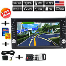 Gps Navigation 2Din Hd Car Stereo Dvd Cd Player Bluetooth Auto Radio In dash Usb (Fits: Scion xA)