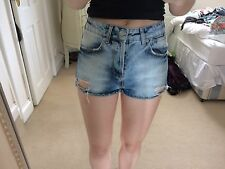 Top shop High Waisted Shorts Petite Size 8