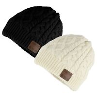 Knit Warm Beanie Hat Wireless Bluetooth Smart Cap Headset Headphone Speaker Mic