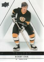 2013-14 Upper Deck Trilogy Hockey #5 Bobby Orr Boston Bruins