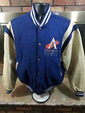 Vintage 1996 Atlanta Olympics Centennial Varsity Leather Jacket Mens Size Large