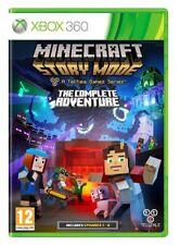 Xbox 360 Minecraft modo Historia: la aventura completa-perfecto Estado-Super Rápido Delive