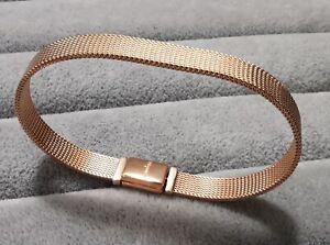 Pandora Bracelet 589358C01 Reflexions Long Clasp Pavé Bracelet Size 16cm  ALE