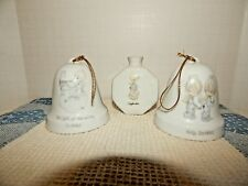 Vintage 1985 Precious Moments Bells ~Samuel J. Butcher~Enesco~A1 Cond