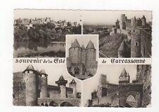 Souvenir de la Cite de Carcassonne RP Postcard France 537a