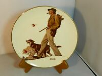 Norman Rockwell 'A Walk In The Country' Plate 1983 1st Edition 4518/5000 Vintage