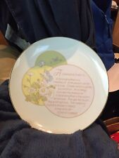 Portraits In Poetry Grandmother Collectors Plate