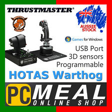 Thrustmaster HOTAS Warthog Joystick Flight Simulator Controler Split Throttle PC