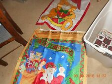 Lot of 2 Outdoor Christmas Flags