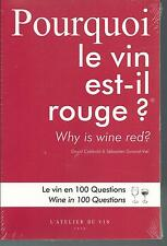 Pourquoi le vin is it red ? Why is wine red ? Bilingual Z012